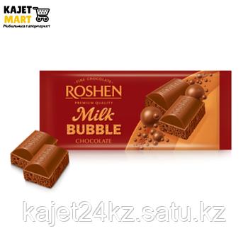 Шоколад Рошен пористый молочный 85г.