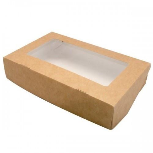 Контейнер на вынос Eco Tabox 1000 мл., 200*120*40 (БУМ, DoEco)