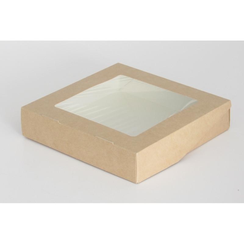 Коробка с окном 1500мл 200*200*40 (Eco Tabox 1500)