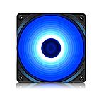 Кулер для компьютерного корпуса, Deepcool, RF 120B, 120мм LED Blue, Molex/3pin, Габариты 120х120х25м