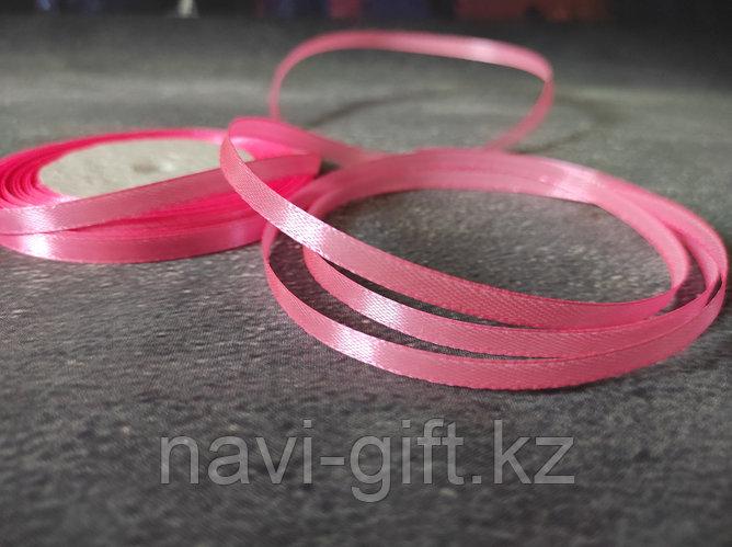 "Атласная лента ""розовая нежность"" , 0,5см*25м"