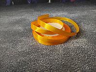 Атласная лента оранжевая , 1 см*25м