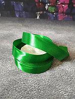Атласная лента зеленая , 2 см*25м