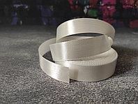 Атласная лента белая , 2 см*25м