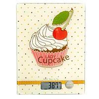Весы кухонные электронные с «вкусным» принтом Digital Kitchen Scale {до 5 кг} (Пироженка)