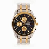 Часы мужские наручные Tissot Couturier T035.614 на стальном ремешке [реплика] (Золотая луна)