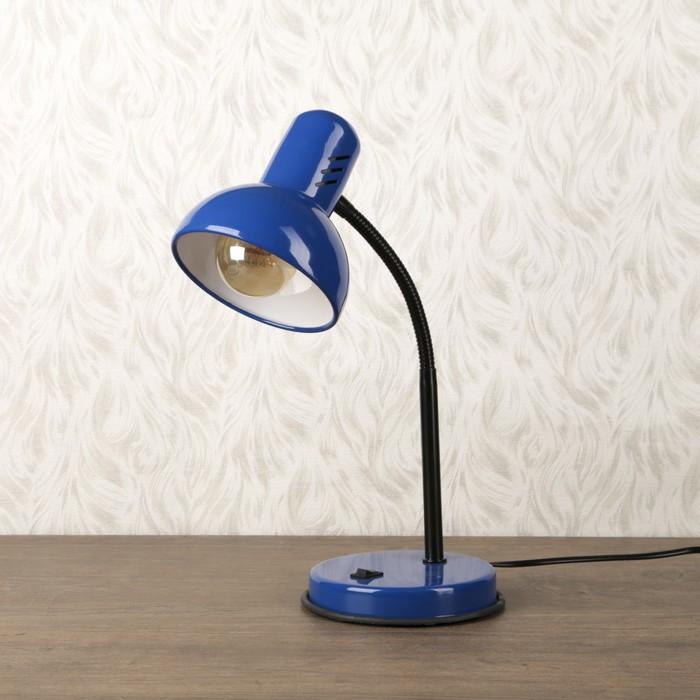 Светильник настольный 1х60Вт E27 синее море