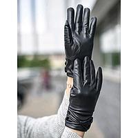 Перчатки женские, размер 8,5, цвет чёрный