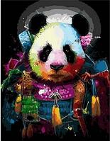 """Картина по номерам """"Панда в ярких красках"""", 40х50 см"""