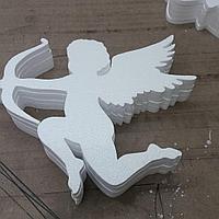 Декоративный ангел из пенопласта