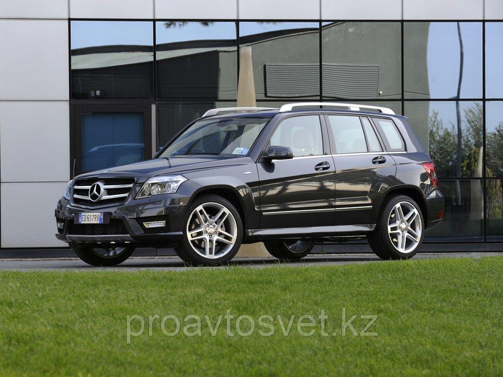 Переходные рамки на Merceses Benz GLK 2008-2011 HID AFS + H/L module