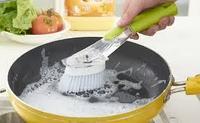Многофункциональная щетка для мытья посуды с дозатором и насадками