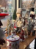 Мальчик с ёлкой, керамика.LED, фото 5