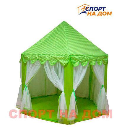 Детский шатер (Замок) зеленый, фото 2