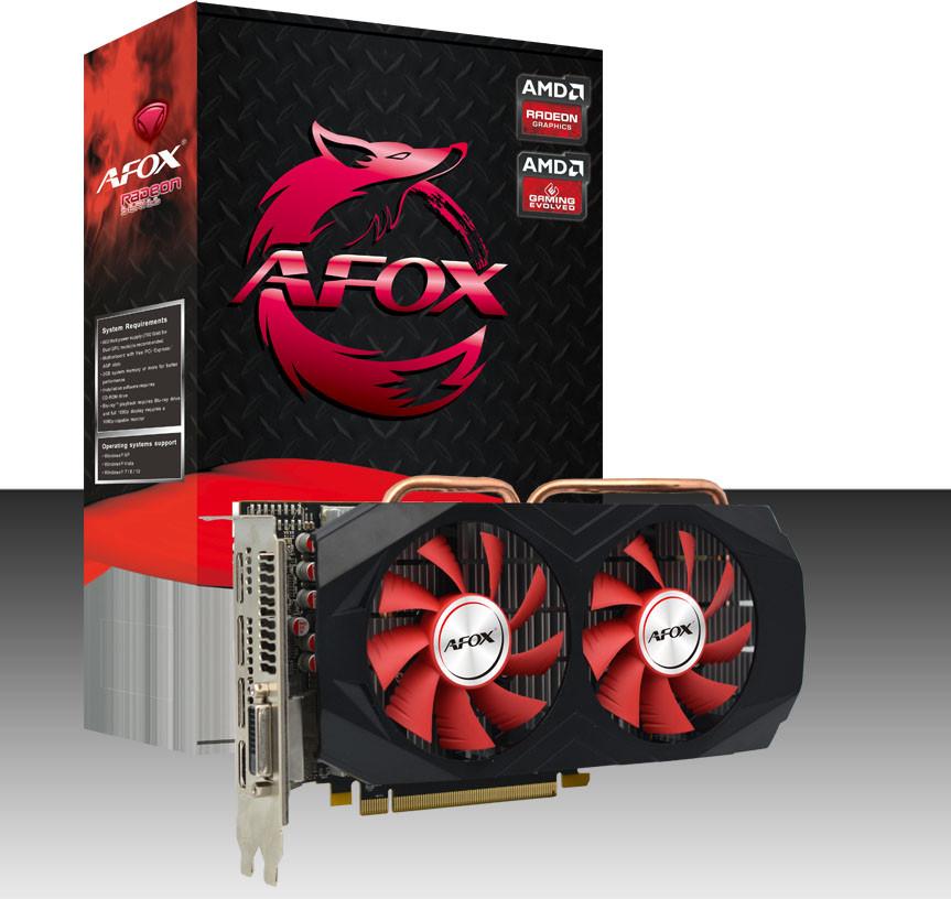 Видеокарта RX 580/8GB GDDR5 256-bit, AFOX