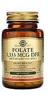 Фолат. Метил Фолат Метафолин Folate (самая усвояемая форма фолиевой кислоты), 800 мкг., 100 таблеток.