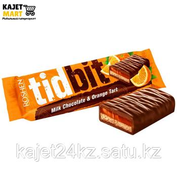Шоколад Рошен TIDBIT Апельсиновый тарт 70г.