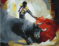 """Картина по номерам """"Испанская коррида"""", 40х50 см"""