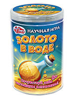 """Ranok 12132079Р Набор для опытов Чудик """"Золото в воде"""""""