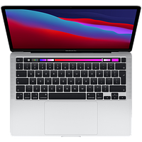 "Apple MacBook Pro 13"" (M1, 2020) 8 ГБ, 256 ГБ SSD, Touch Bar, серебристый"