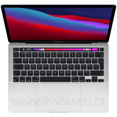"Apple MacBook Pro 13"" (M1, 2020) 8 ГБ, 512 ГБ SSD, Touch Bar, серебристый"