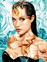 "Картина по номерам ""Анджелина"", 40х50 см"