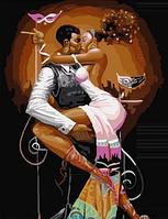 """Картина по номерам """"Страстные танцы"""" 40х50 см"""