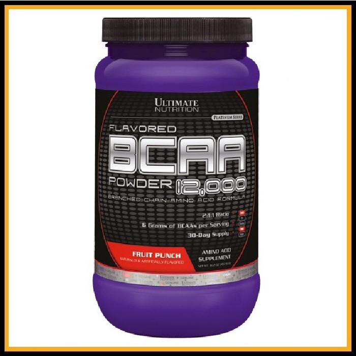 Ultimate Nutrition Flavored BCAA Powder (457g) (Фруктовый пунш)