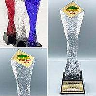 Наградные хрустальные статуэтки