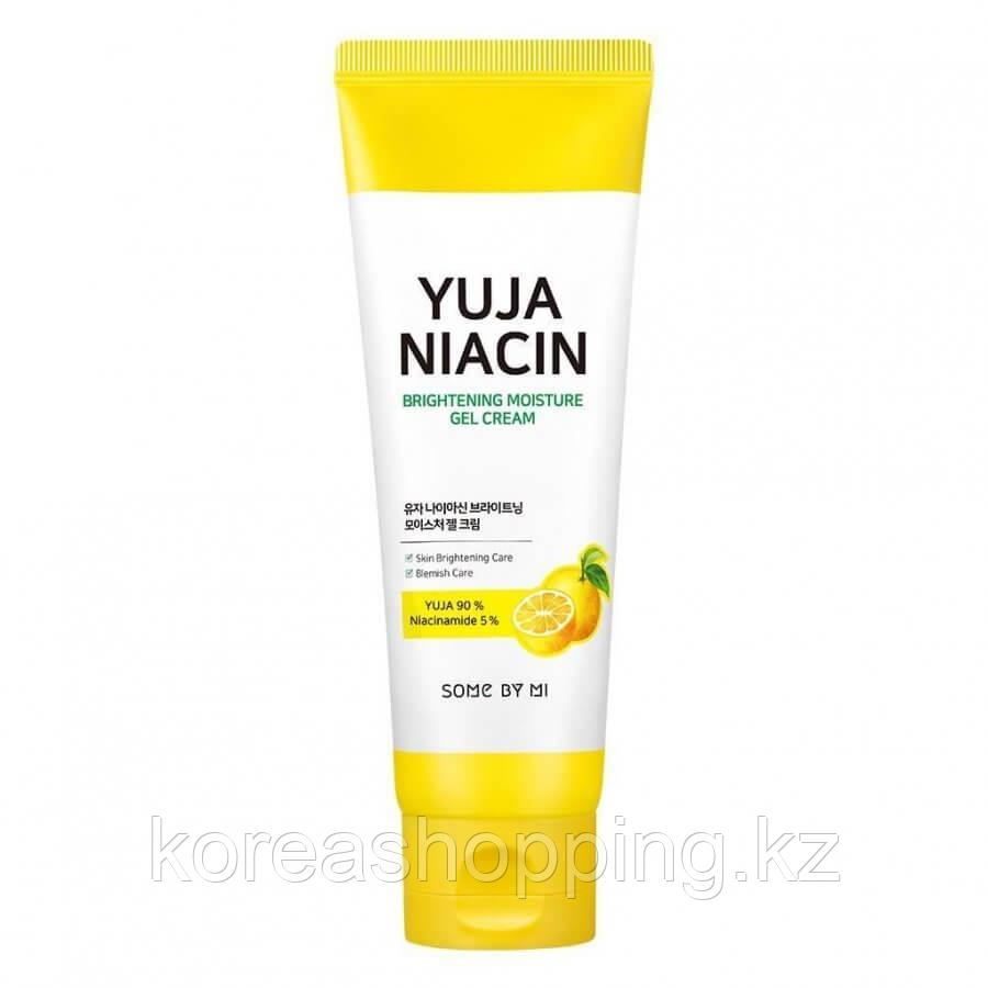 Крем-гель с юдзу для выравнивания тона, Some By Mi Yuja Niacin Brightening Moisture Gel Cream, 100мл.