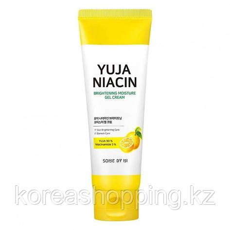 Крем-гель с юдзу для выравнивания тона, Some By Mi Yuja Niacin Brightening Moisture Gel Cream, 100мл., фото 2