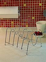 Подставка для крышек / Держатель для крышек, тарелок / 5 отсеков, фото 1