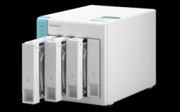 """QNAP TS-431K Сетевой RAID-накопитель, 4 отсека 3,5""""/2,5"""". ARM Annapurna Labs AL-214 1,7 ГГц, 1 ГБ."""
