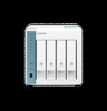 """QNAP TS-431K Сетевой RAID-накопитель, 4 отсека 3,5""""/2,5"""". ARM Annapurna Labs AL-214 1,7 ГГц, 1 ГБ., фото 3"""