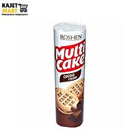 Печенье Мульти-Кейк молоко с начинкой какао (фас) 180г.