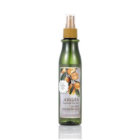 Увлажняющий спрей для волос с аргановым маслом WELCOS CONFUME Argan Treatment Hair Mist, 200мл., фото 2