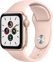 Смарт-часы Apple Watch SE 44mm Gold Aluminium Case with Sport Band MYDR2GK/A розовый