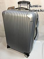 """Средний пластиковый дорожный чемодан на 4-х колесах """"Longstar"""".Высота 64 см, ширина 41 см, глубина 25 см., фото 1"""