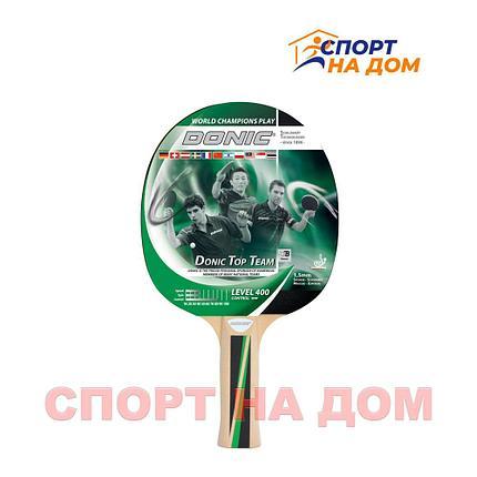 Ракетка для настольного тенниса Donic Schildkrot 400 Level, фото 2