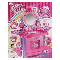Игровой набор Pituso Туалетный столик маленькой модницы с пуфиком, музыка, свет