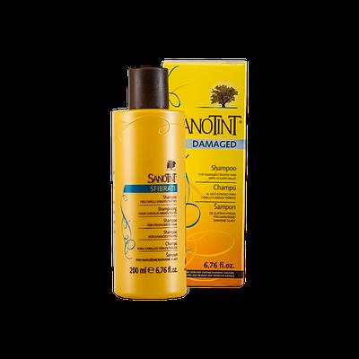 Шампунь для поврежденных волос Sanotint Vivasan 200ml (Оригинал-Швейцария)