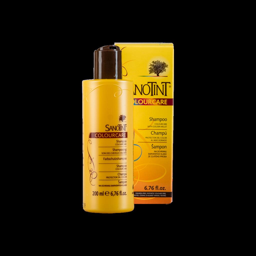 Шампунь для окрашенных волос Санотинт Vivasan 200ml (Оригинал-Швейцария)