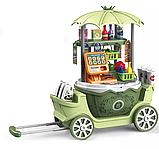 Игровой набор Pituso Кухня на колесиках 4в1, 47 элементов, фото 2