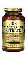 Магний цитрат Solgar 420 мг. в 2 таблетках. 120 таблеток.