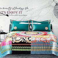 Комплект постельного белья двуспальный сатин VERSACE