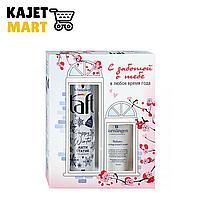 Подарочный набор Taft Happy Winter Лак для волос + Barnangen Ухаживающий Крем для рук Balans
