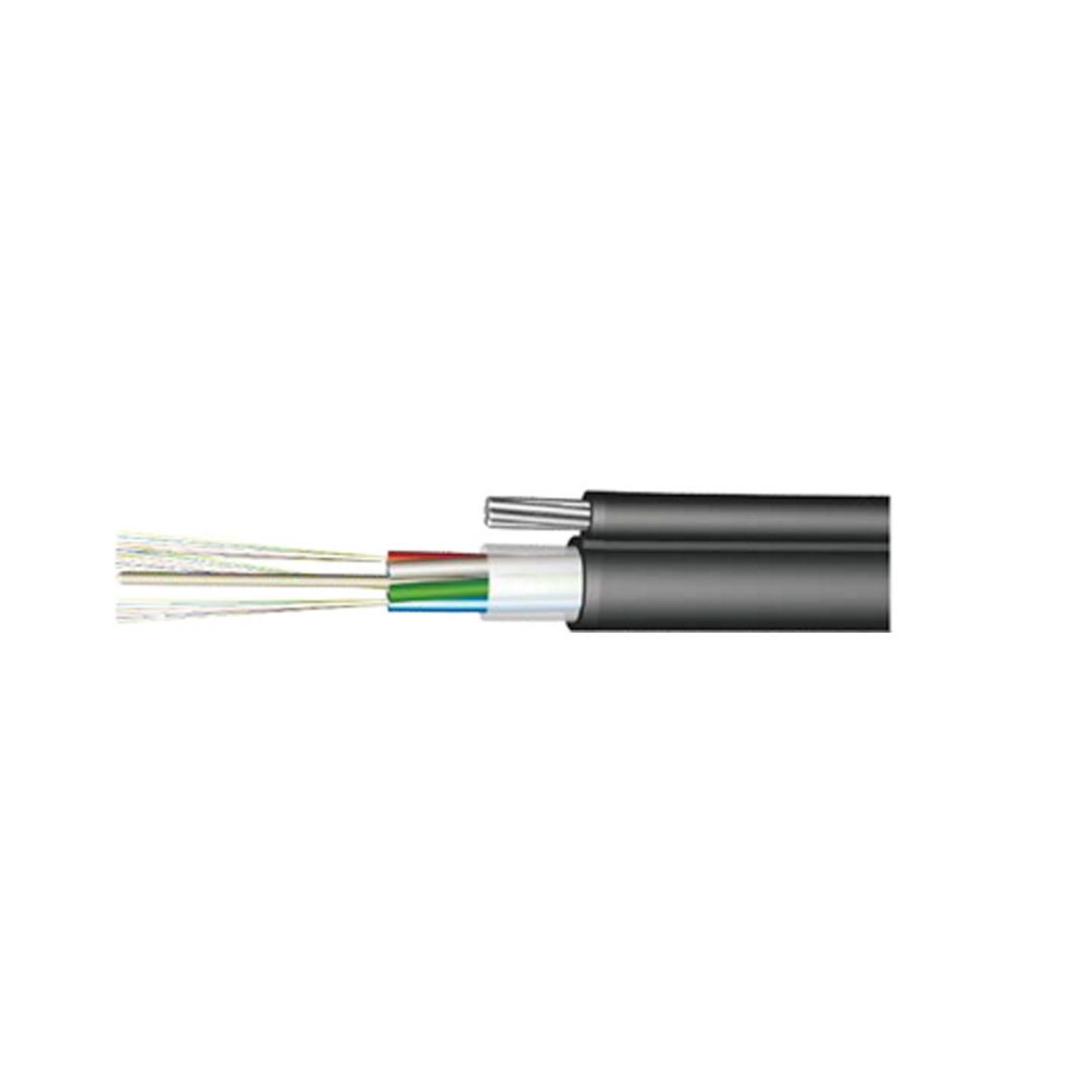 Кабель оптоволоконный, СКО, ОКТ-2(G.652.D)-Т/СТ 6кН, предназначен для подвески на опорах воздушных л