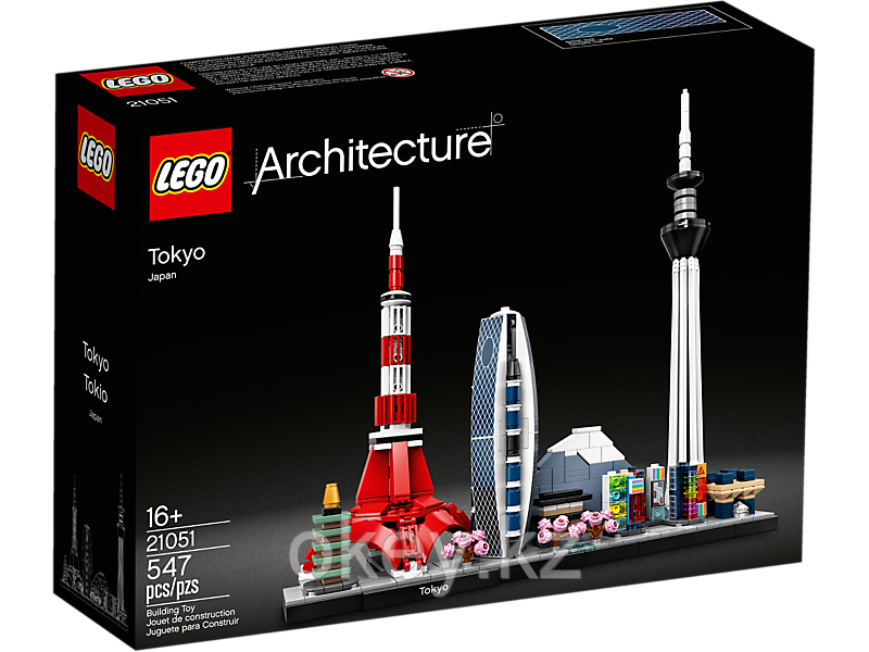 LEGO Architecture: Токио 21051 - фото 1