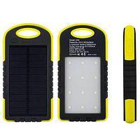 Аккумулятор для зарядки портативный на солнечных батареях LED Light A50 [28000 мАч.]