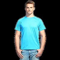 Мужская спортивная футболка , StanPrint, 30, Бирюзовый неон (132), XXL/54
